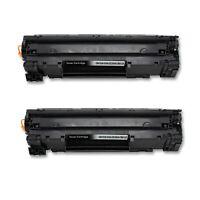 2PK CE285A 85A Black Toner Cartridge for HP LaserJet P1102 P1102W P1109 M1217nfw