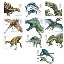 UK Dinosaurs Stamps Set MNH 2013