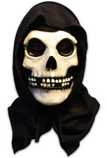 Halloween MISFITS THE FIEND HOODED ADULT LATEX DELUXE MASK COSTUME NEW