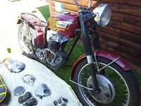 TRIUMPH 650 TR6R PROJECT BIKE 1968/69