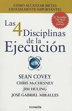 LAS 4 DISCIPLINAS DE LA EJECUCI=N / THE 4 DISC - CHRIS MCCHESNEY (PAPERBACK) NEW
