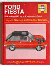 Brand New(sealed) Ford Fiesta Haynes Car Manual 1976 to 1983 (up to Y reg)
