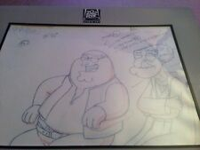 Family Guy Peter & Herbert as Obi wan Blue Harvest Star Wars