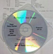 RADIO SHOW: JAZZ STAGE LATIN 3/4/05 RICHARD BONA, OSCAR HERNANDEZ, BENNY MORE