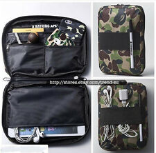 A Bathing Ape BAPE Camo Wallet Tablet Passport Case Bag From Japan Magazine