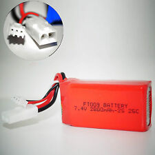 FT009 Akku Batterie 7.4V 2000mAh 25C Li-po Lipo Tuning RC Boot 2s Mini Tamiya