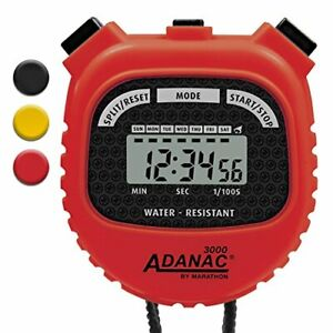 MARATHON Adanac 3000 Digital Sports Stopwatch Timer with Extra Large Display an