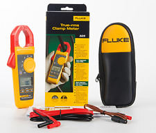 New Fluke 325 True-RMS Clamp Meter 40.00 A / 400.0 A with Soft carrying case