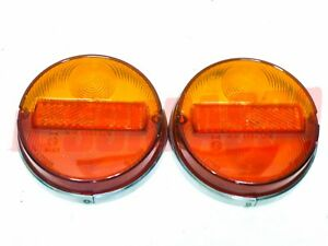 Plastic Lights Rear Fiat 850 Coupe 1100 R Spear 037 Ford Gt 40 Stars