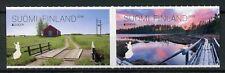 Finland 2018 MNH Bridges Europa Bridge 2v S/A Set Architecture Tourism Stamps