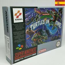 Tortugas ninja IV turtles in time Super Nintendo Teenage mutant ninja turtles