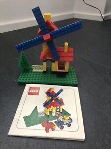 Vintage Lego Windmill - Weetabix Promotional Set 4