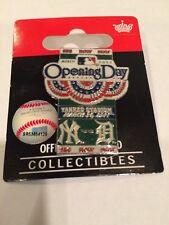 NEW YORK YANKEES VS DETROIT OPENING SERIES 2011 @ YANKEE STADIUM PIN