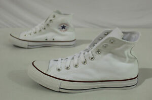 Converse Unisex Adult Chuck Taylor All Star Sneakers JQ2 White Size M:7.5 W:9.5