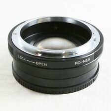 0.72x Focal Reducer Speed Booster Canon FD mount lens to Sony NEX Adapter 7 5R