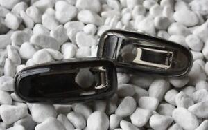 KLARGLAS SEITENBLINKER BLINKER SET MERCEDES BENZ W210 1995-1999 BLACK - CHROM