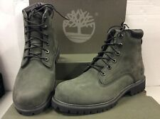 Timberland Alburn 6-in Waterproof Nubuck Leather Mens Boots A1QR2, UK 7  EU 41