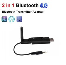 3.5mm Audio AUX to Bluetooth Wireless Adapter Transmitter for TV PC to Headphone