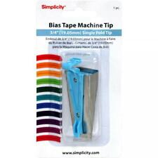 """Simplicity Bias Tape Maker Tip  3/4"""" -   FREE SHIPPING IN US"""