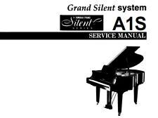Yamaha A1S Grand Piano Silent System service manual Inc schématique SANHQ anglais