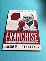 Michael Floyd  Cardinals  2013 Score Future Franchise Fabrics#FR-MF