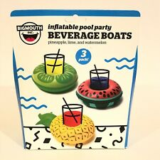 Bigmouth Inflatable Pool Party Beverage Boats