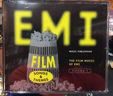 FILM MUSIC OF EMI Film Songs & Themes Volume 1 Fatbox 4-CD Set , 1997