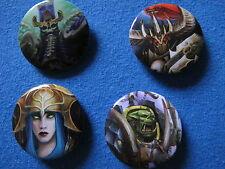 Warhammer Age of sigmar alarielle Archaon Nagash gordrakk pins Buttons