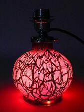 WMF ikora cristal lámpara ° bala mesa lámpara ° art deco Glass lamp ° (°)