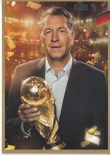 Andreas Köpke Autogrammkarte DFB limitierter Edition Weltmeister 2014