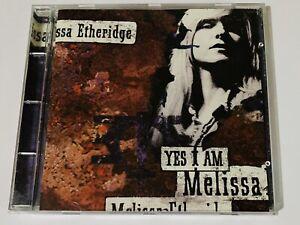 MELISSA ETHERIDGE YES I AM CD 1993 ISLAND RECORDS