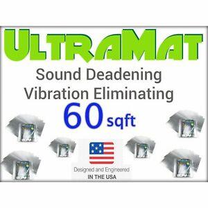 1962 - 1967 Chevy 60 SqFt UltraMat Heat & Sound Barrier 60 12 x 12 Tiles xl