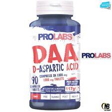 PROLABS DAA Acido D-Aspartico 90 cpr + Vitamina B6 e Zinco Testosterone Booster
