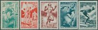 Monaco 1948 SG343-347 Olympic Games Wembley MLH