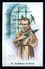 "santino-holy card ""B.APOLLINARE DA POSAT M."