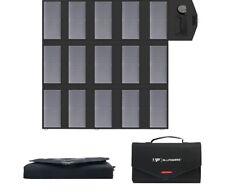 Batería Portátil Panel Solar Cargador Teléfono Celular Laptop Mono Cristalino Nuevo