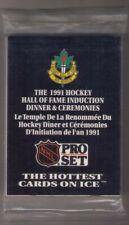 1991-92 Pro Set Hockey Hall Of Fame Induction Pack *SEALED*