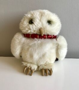 """HARRY POTTER HEDWIG THE OWL 8"""" Warner Brothers Plush Toy By GUND 2001"""