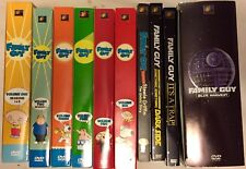 Large Family Guy DvD Lot Seasons Blue Harvest, Darkside, Its A Trap movies