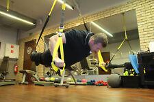 Trainer di sospensione Training BAND CINGHIE Fitness Allenamento Di Resistenza