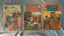 3 Comics   Gunfighters #84   Geronimo Jones #7, #8