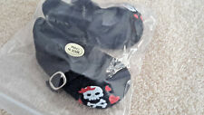Black with Skull and Cross Bones Doll Shoes Fits American Girl New