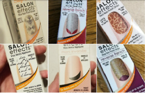 SALLY HANSEN SALON EFFECTS NAIL POLISH STRIPS ~ Pick your own ~ Buy 3 Get 1 Free
