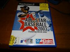 ALL-STAR BASEBALL 2003 PS2 PLAYSTATION 2 *GOING CHEAP!