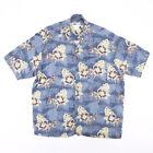 Vintage UNTIED Blue 00s Short Sleeve Hawaiian Shirt Mens XL