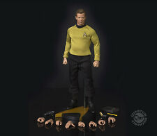 Star Trek: TOS Kirk QMx Quantum Mechanix 1:6 Figure IMPROVED 2nd Edition SEALED!