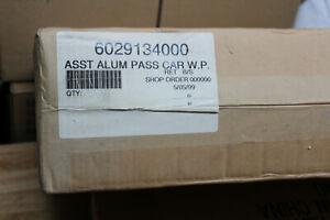 LIONEL #29134 WESTERN PACIFIC  PASSENGER CAR 4 PACK