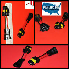 NeW H11 H8 h9 TO 9006 hb4 bulb model convert Pigtail HARNESS SOCKETs plug n play