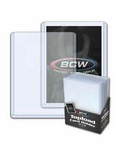 BCW 1TLCHN 3 X 4 Baseball Trading Card Topload Holders - 12 Mil
