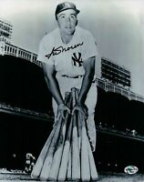 Irv Noren Signed 8X10 Photo Autograph New York Yankees w/Bats Auto COA Black Ink